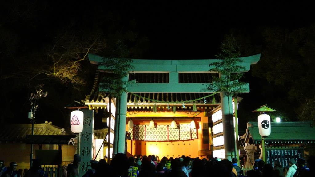 西宮神社 赤門前