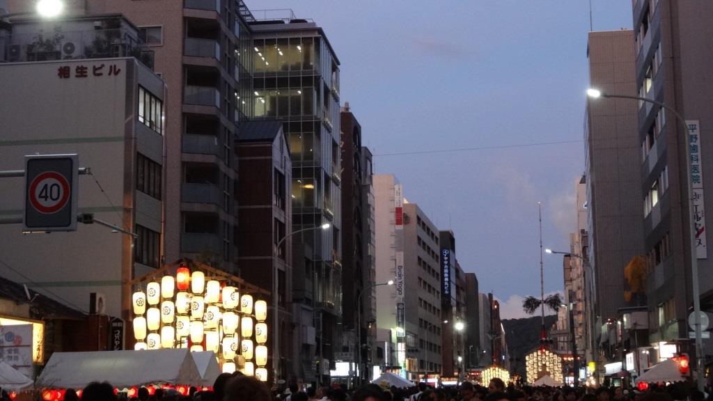 祇園祭 夜景1