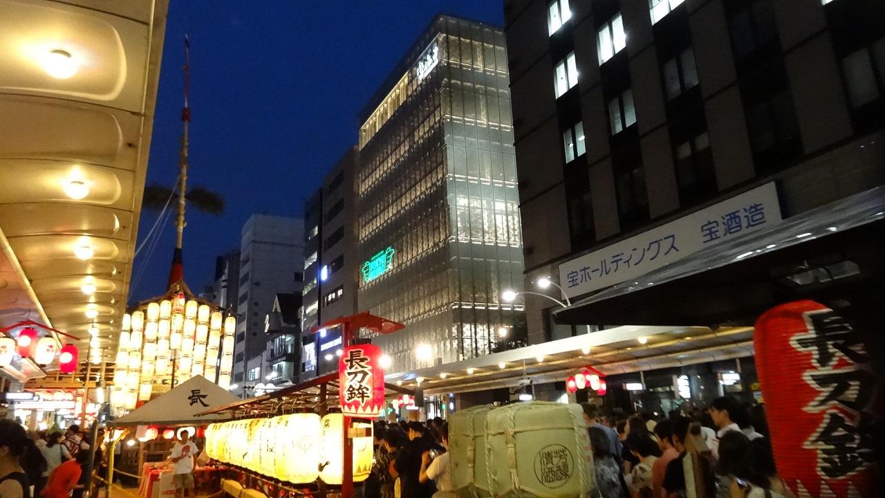 祇園祭 前祭 長刀鉾