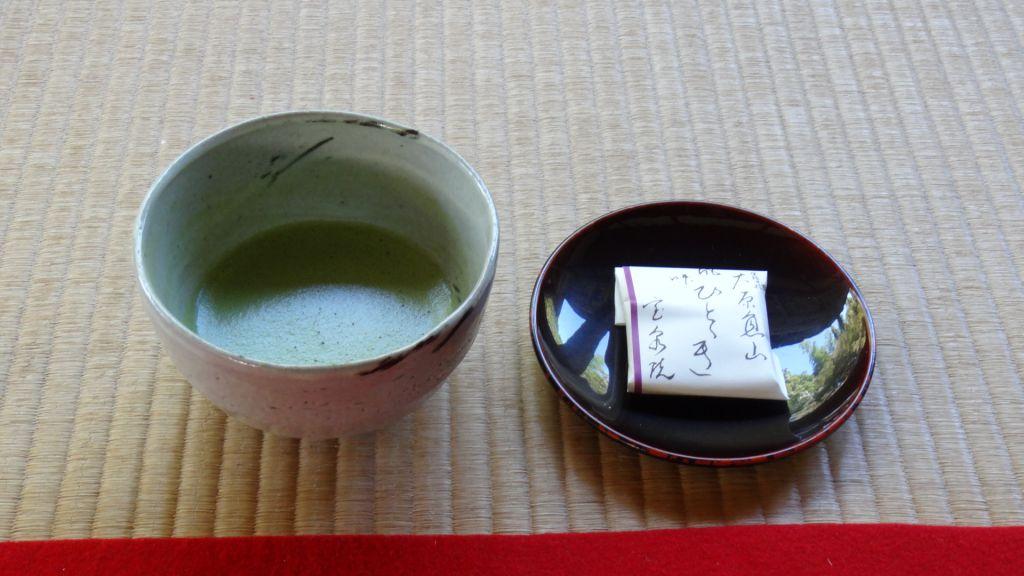 宝泉院 抹茶&お菓子