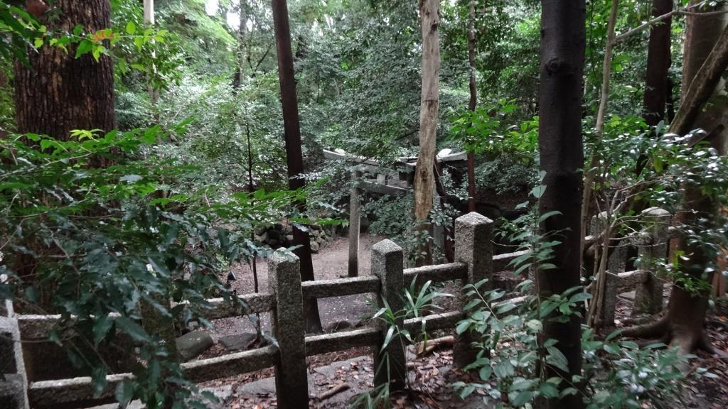 木島神社(蚕の社) 三柱鳥居