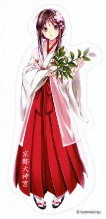 京都大神宮 MIKO ステッカー