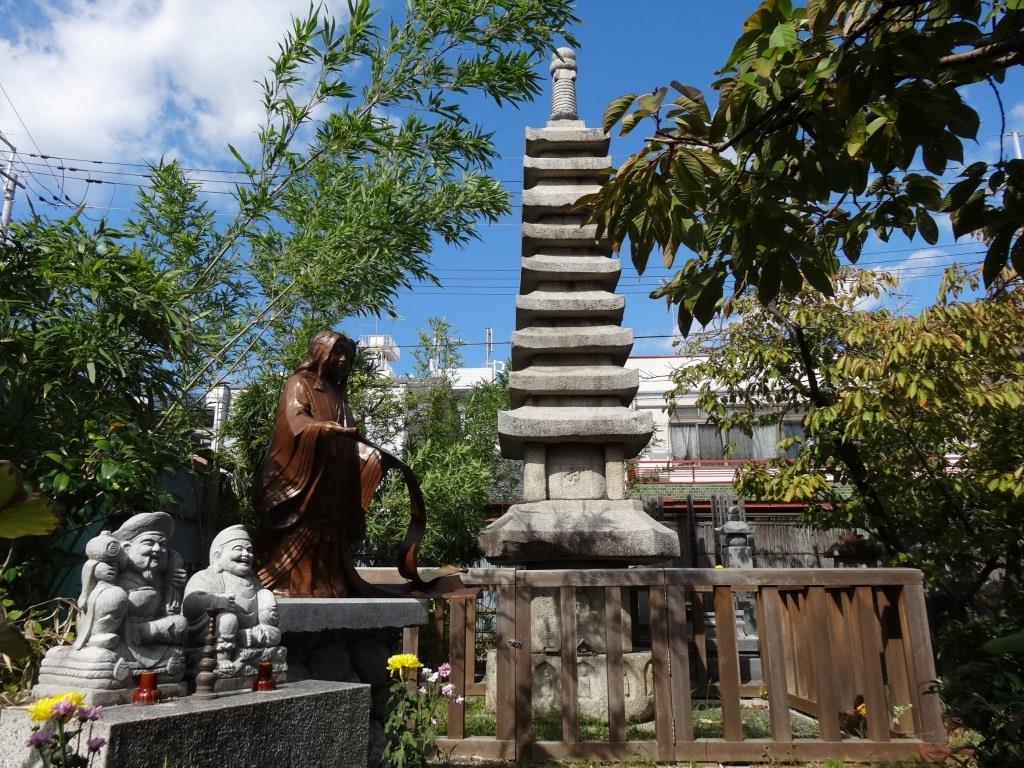 千本ゑんま堂 引接寺 紫式部供養塔