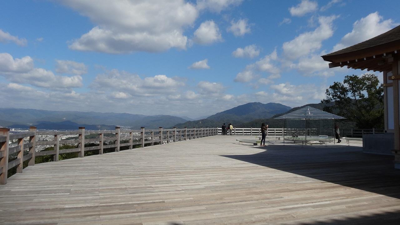 京都の絶景新名所~青龍殿の御朱印