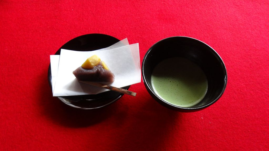 妙心寺 大法院 抹茶&お菓子