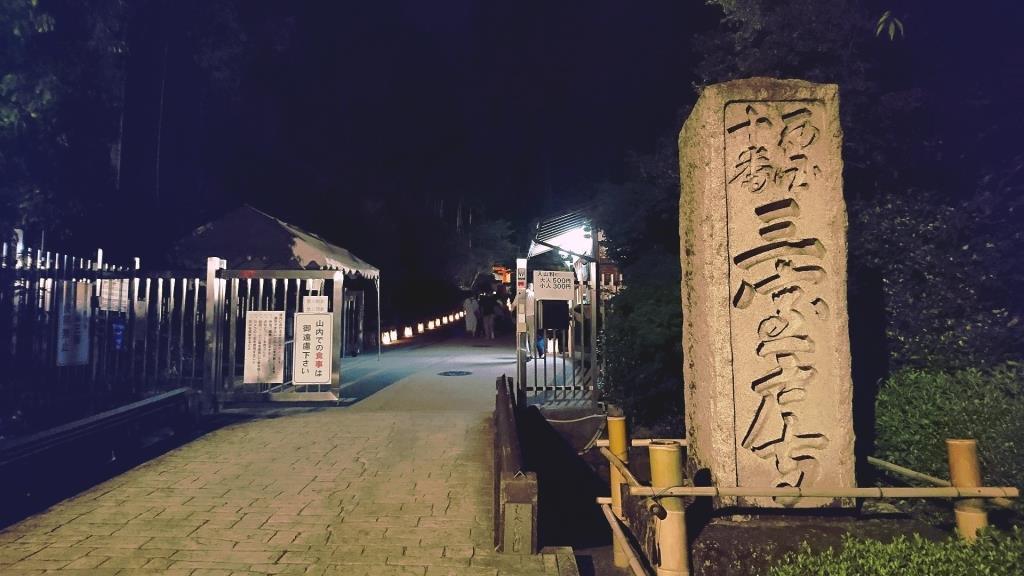 三室戸寺あじさいライトアップ