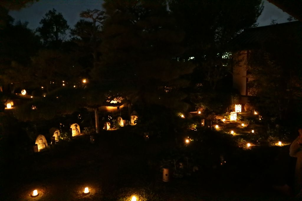 梵燈のあかりに親しむ会 秋風一味涼