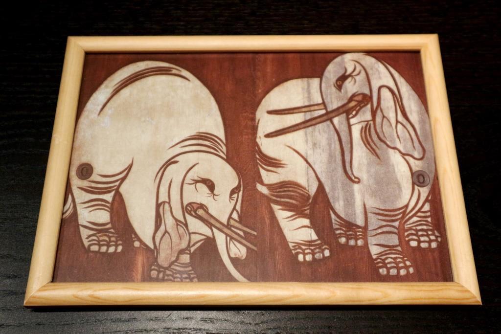 白象図 ポストカード