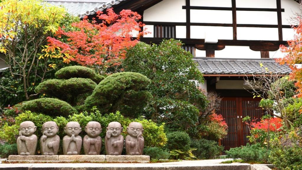 東福寺 かわいいお地蔵さま