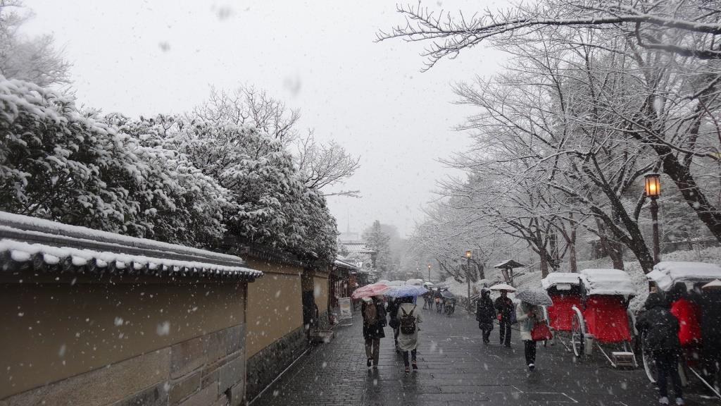 2015年元日 雪景色