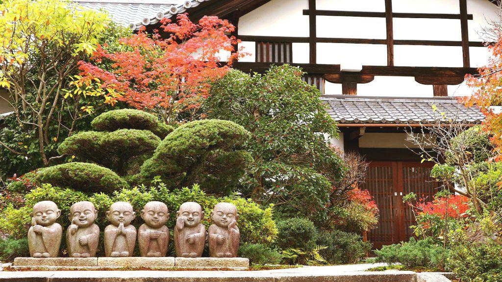 東福寺 紅葉の風景