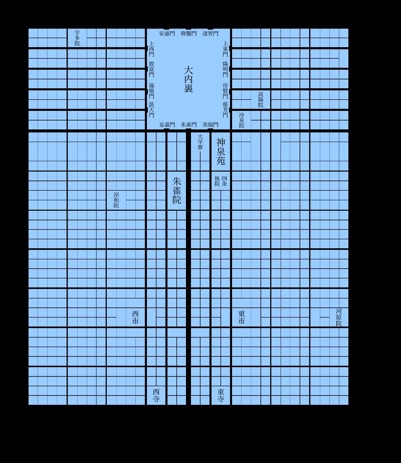 平安京マップ